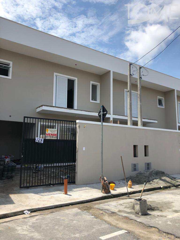 Sobrado Novo, 2 suítes, Centro, Bertioga - R$ 360 mil, Cod: 648