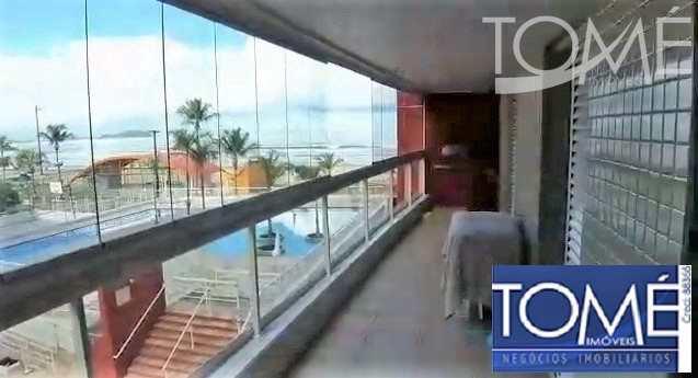 Apartamento com 3 dorms, Centro, Bertioga - R$ 800 mil, Cod: 976