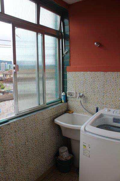 Apartamento com 2 dorms, Esplanada dos Barreiros, São Vicente - R$ 190 mil, Cod: 10943