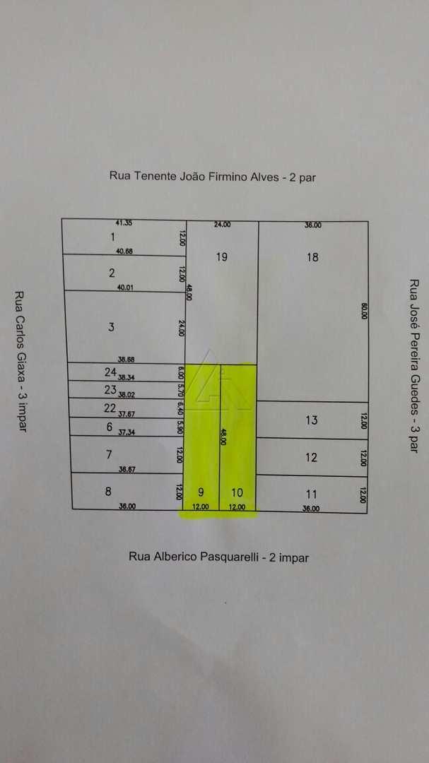 Terreno, Parque Paulista, Bauru - R$ 850 mil, Cod: 3156