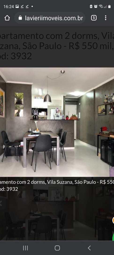 Apartamento com 2 dorms, Vila Suzana, São Paulo - R$ 550 mil, Cod: 18549