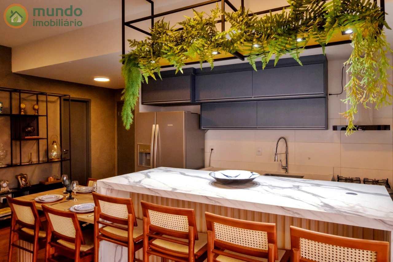Apartamento no Piemont Residence, Taubaté - 3 dorms, 101 m²