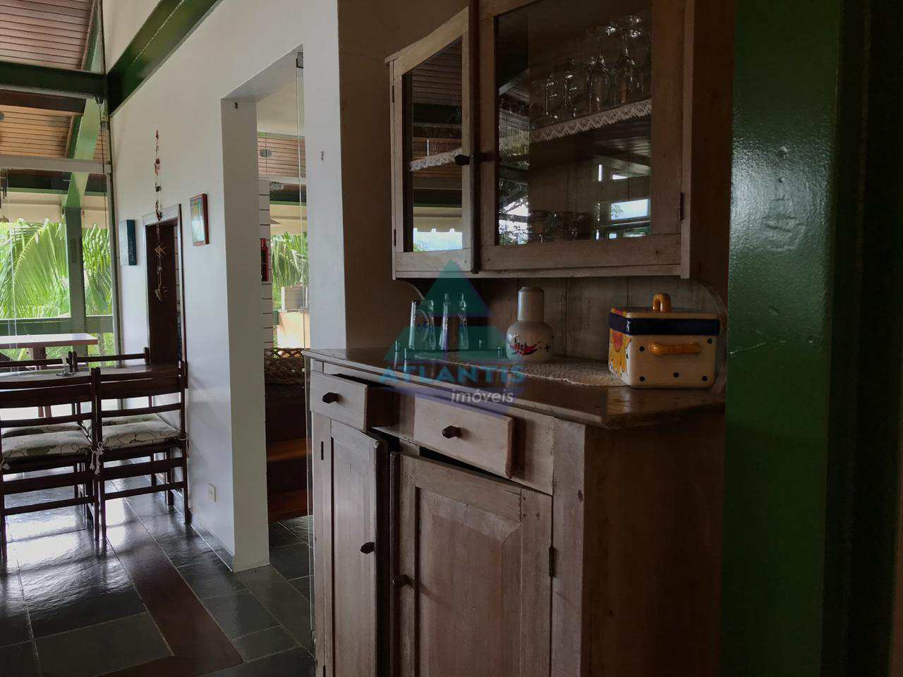 Casa com 4 dorms, Recanto Lagoinha, Ubatuba - R$ 950 mil, Cod: 300