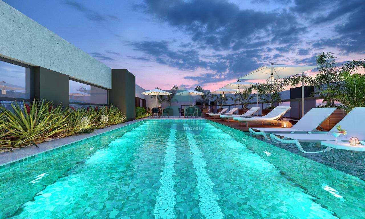 Apartamento com 1 dorm, Perequê Açu, Ubatuba - R$ 130 mil, Cod: 1071