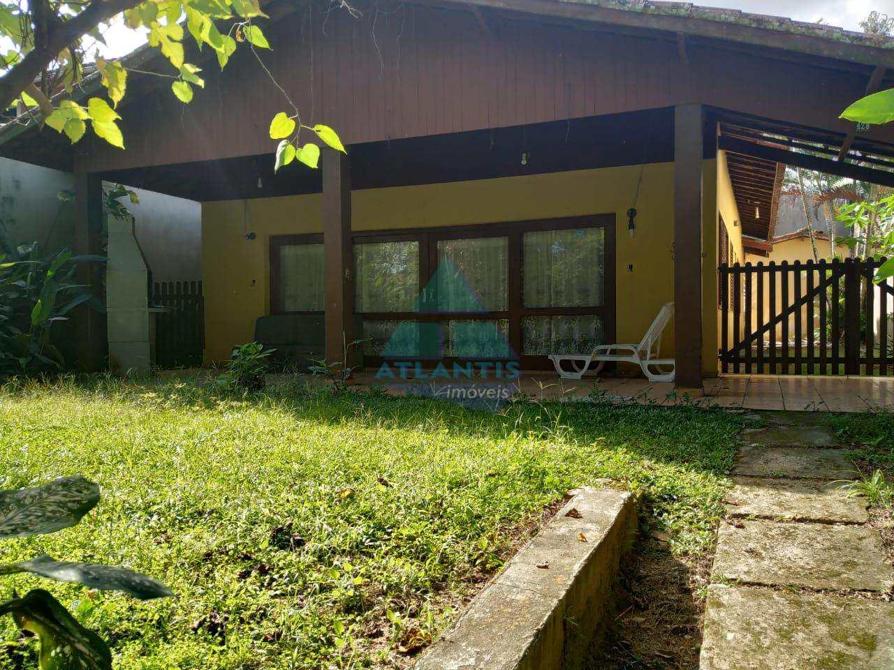 Casa com 3 dorms, Condomínio Lagoinha, Ubatuba - R$ 650 mil, Cod: 1077
