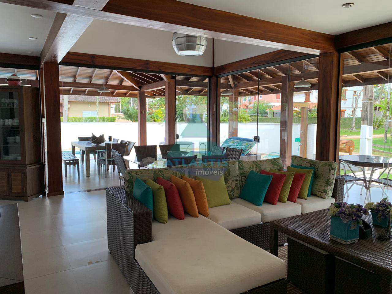Casa com 5 dorms, Condomínio Lagoinha, Ubatuba, Cod: 1223