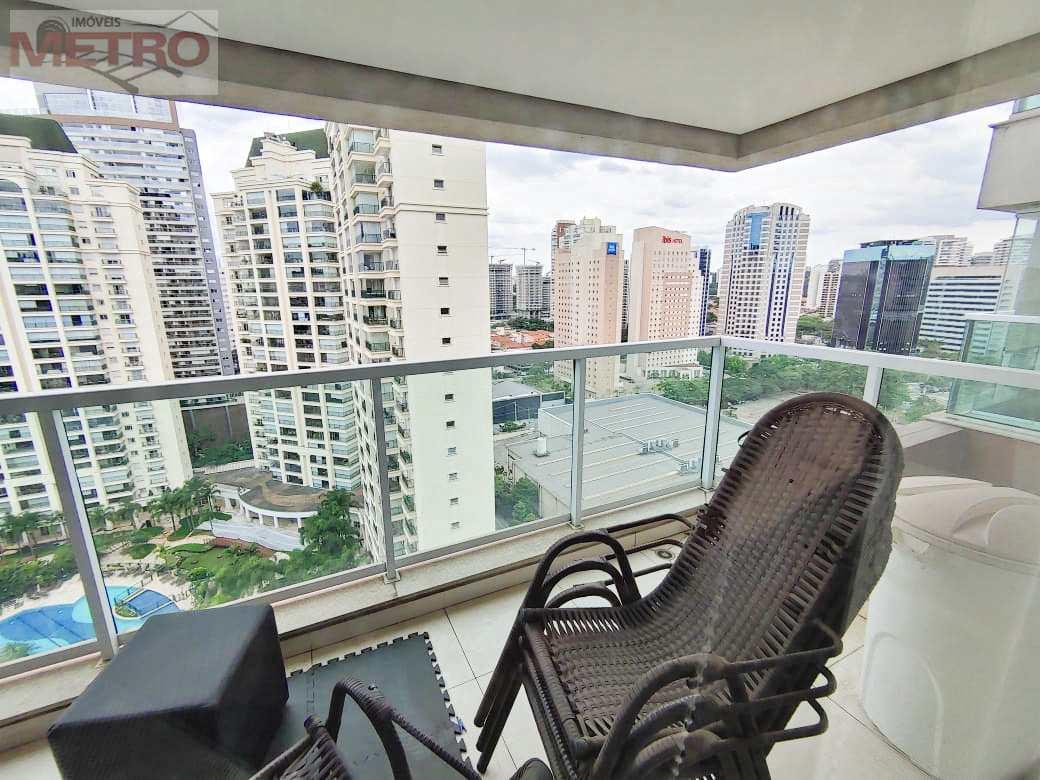 Apartamento com 1 dorm, Brooklin, São Paulo - R$ 670 mil, Cod: 12300