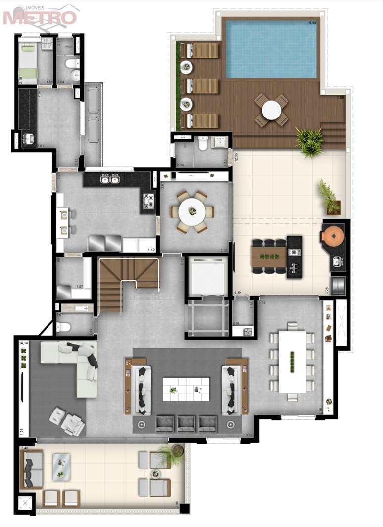 Cobertura com 4 dorms, Vila Mariana, São Paulo - R$ 8.2 mi, Cod: 91025