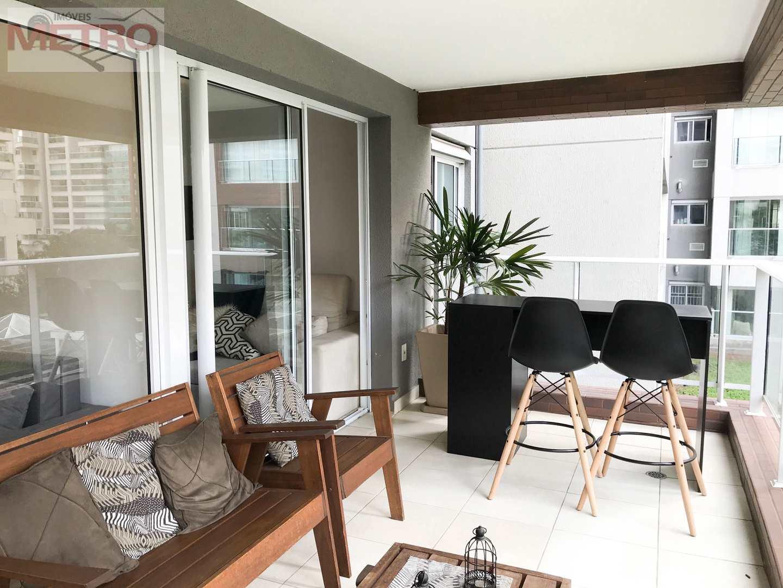 Apartamento com 2 dorms, Campo Belo, São Paulo - R$ 904 mil, Cod: 91161