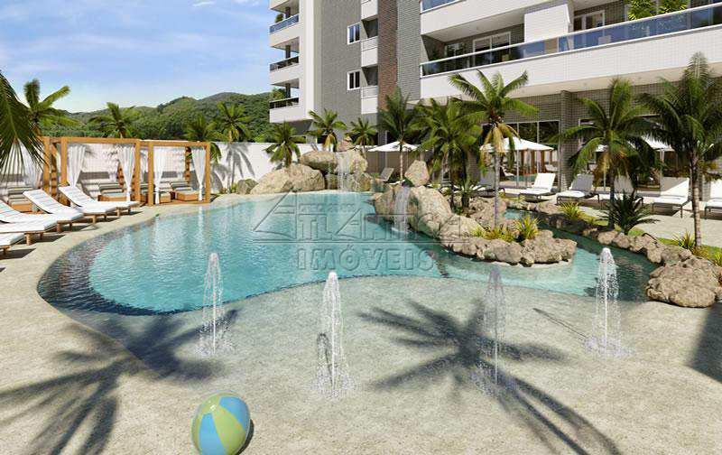 Apartamento com 2 dorms, Praia das Toninhas, Ubatuba - R$ 527 mil, Cod: 3379