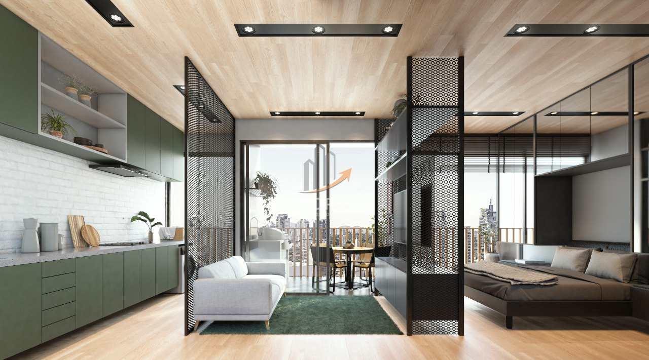 15 - Perspectiva Artística Panorâmica 01 Dormitório