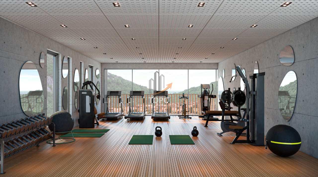 06 - Perspectiva Artística Sala Fitness