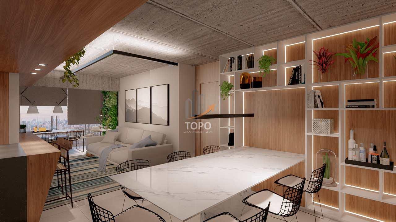 19 - Perspectiva Artística Sala 03 Dormitórios