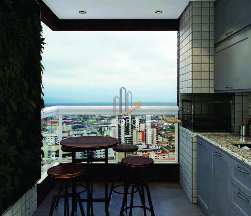 18 - Perspectiva Artística Terraço Gourmet - 02 Dormitórios