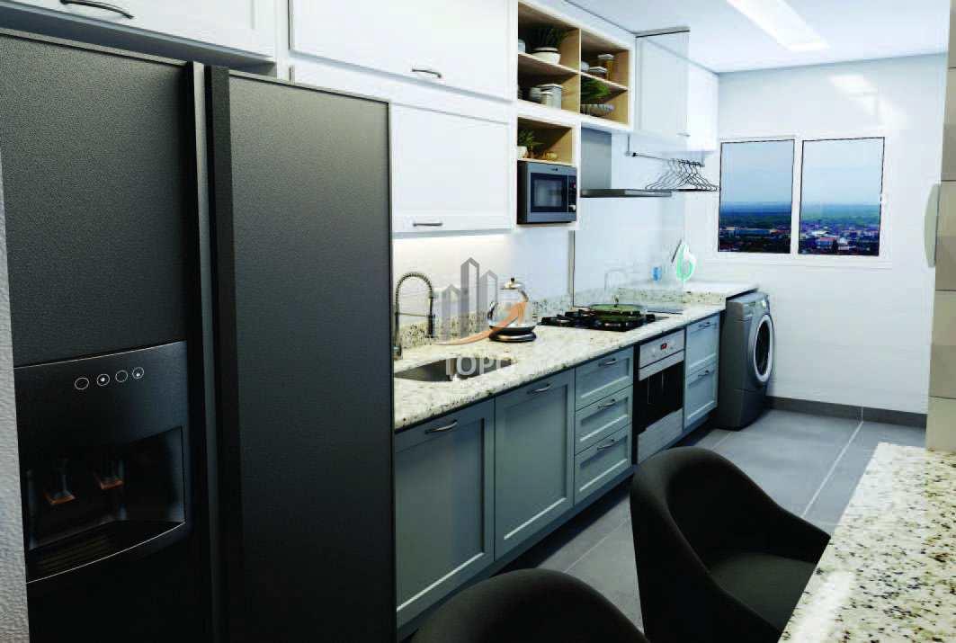 17 - Perspectiva Artística Cozinha - 02 Dormitórios