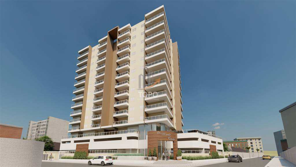 Sua chance de comprar seu primeiro imóvel na Praia Grande é agora. Apartamento com apenas R$ 20.000,00 de entrada, apenas 01 quadra da praia, no bairro Caiçara