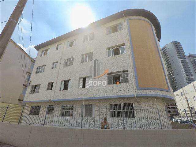Apartamento localizado no coração do centro comercial do bairro Boqueirão em Praia Grande/SP. REF 4569