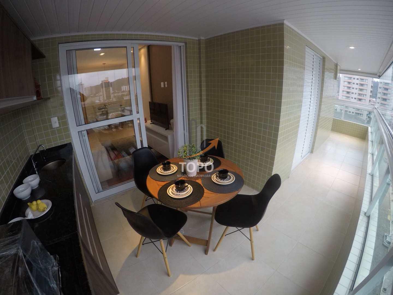 Apartamento com 2 dorms, Canto do Forte, Praia Grande - R$ 650 mil, Cod: 4648