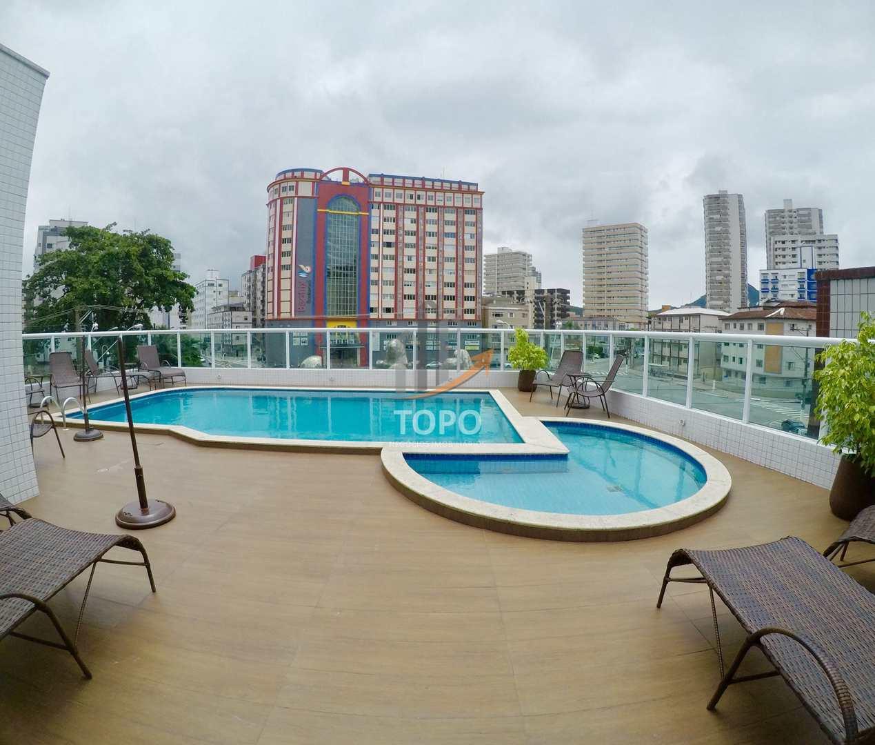 Apartamento com 2 dorms, Guilhermina, Praia Grande - R$ 440 mil, Cod: 4649