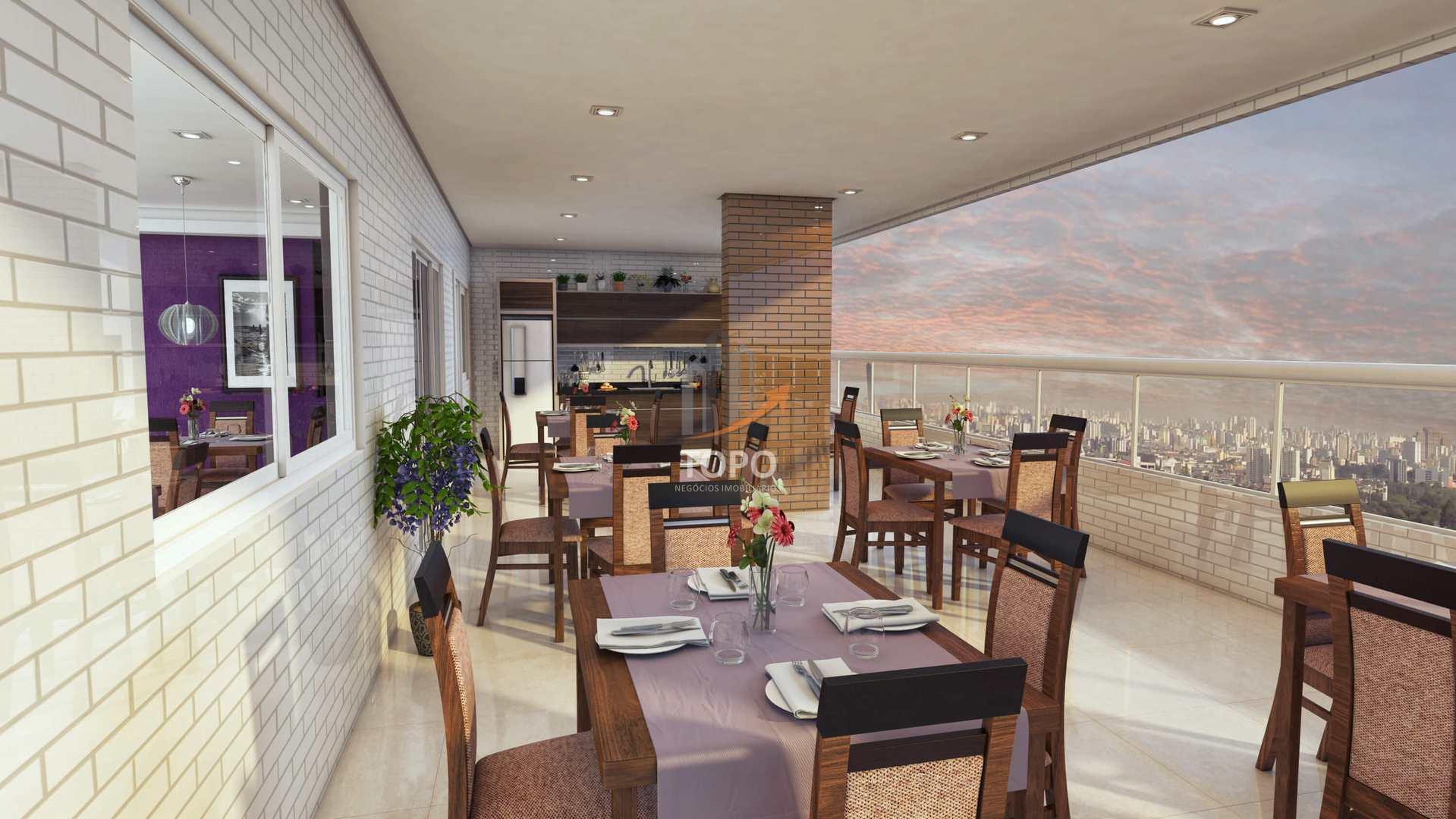 Apartamento com 1 dorm, Guilhermina, Praia Grande - R$ 240 mil, Cod: 4672
