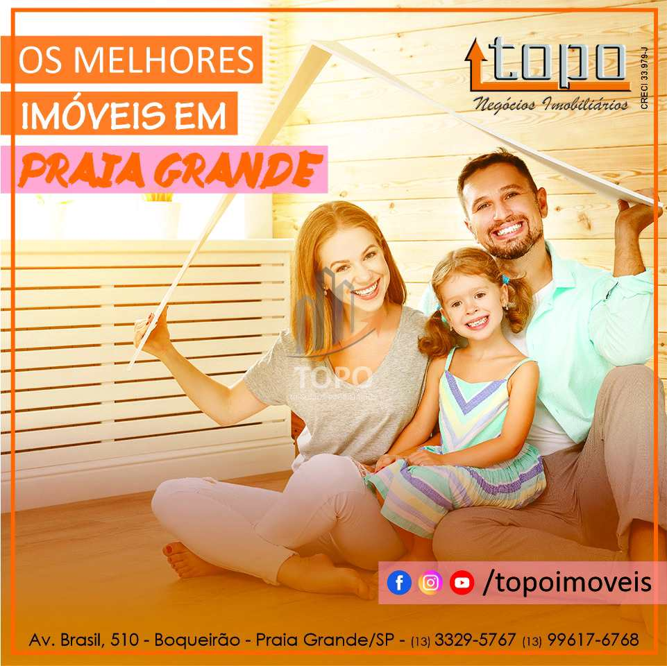 Apartamento com 2 dorms, Canto do Forte, Praia Grande - R$ 480 mil, Cod: 4677