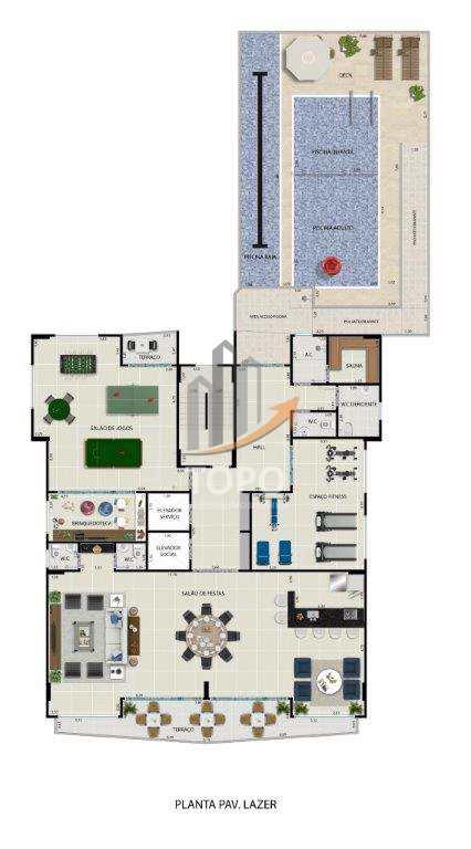 Apartamento com 2 dorms, Tupi, Praia Grande - R$ 300 mil, Cod: 4809