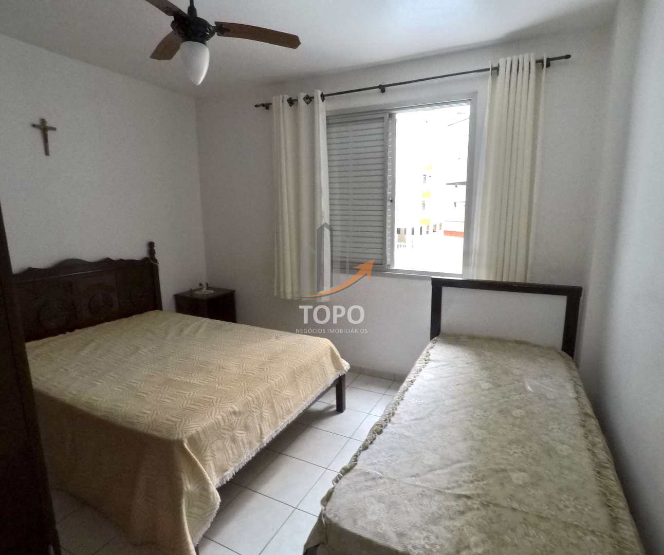Apartamento com 1 dorm, Guilhermina, Praia Grande - R$ 180 mil, Cod: 4921