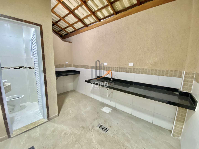 Sobrado com 2 dorms, Caiçara, Praia Grande - R$ 468 mil, Cod: 5285