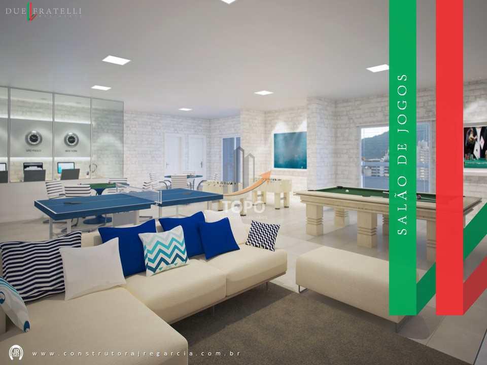 Apartamento com 2 dorms, Guilhermina, Praia Grande - R$ 445 mil, Cod: 5511