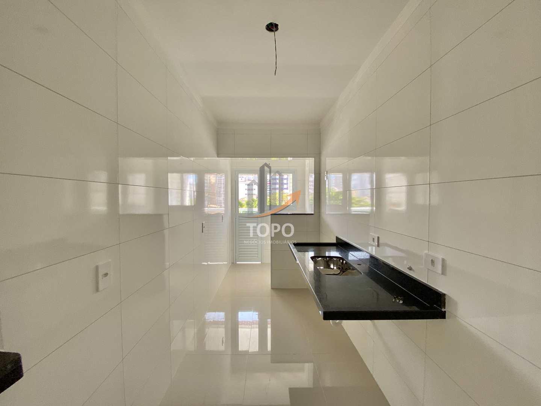 Apartamento com 2 dorms, Boqueirão, Praia Grande - R$ 344 mil, Cod: 5618