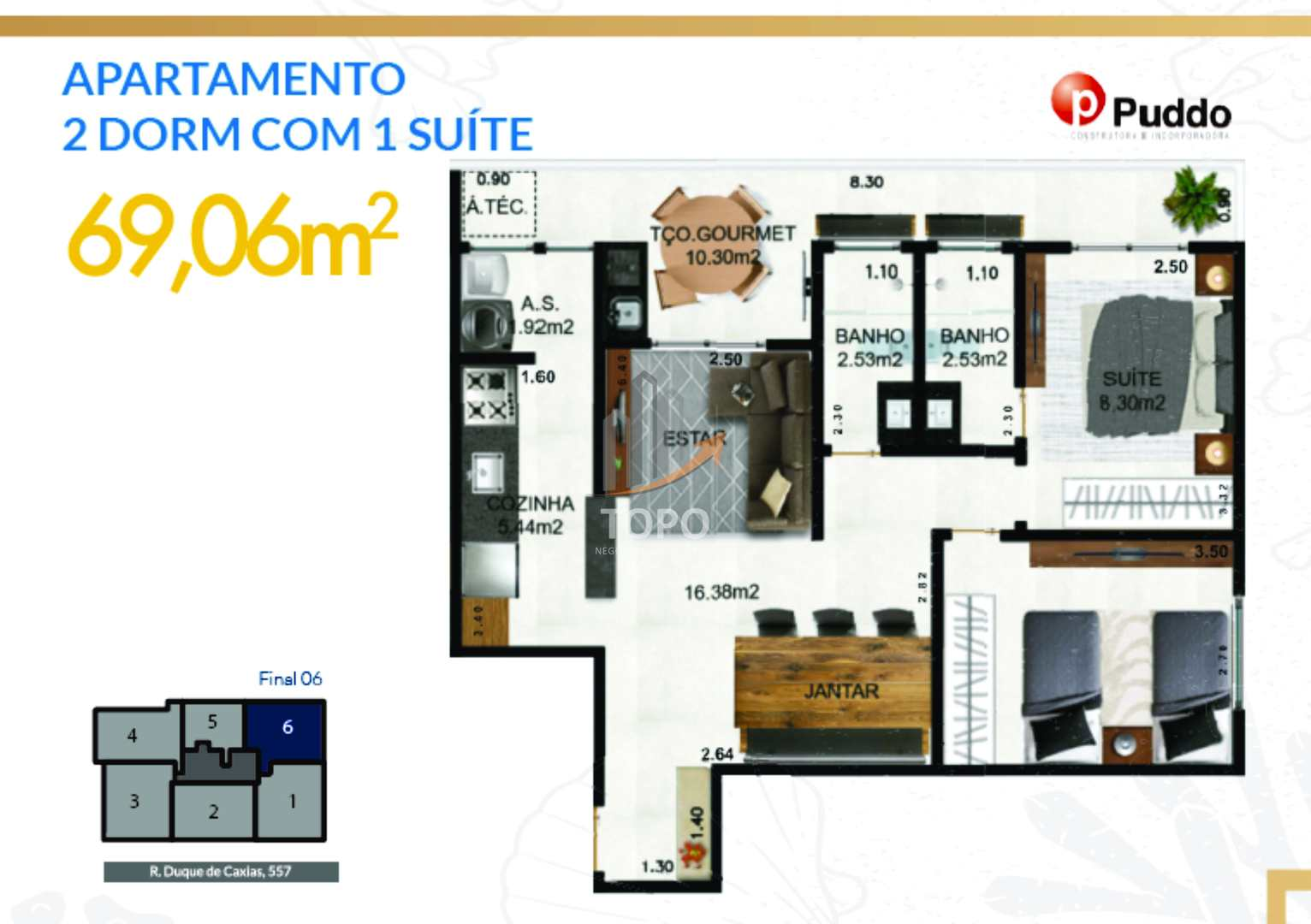 Apartamento com 2 dorms, Boqueirão, Praia Grande - R$ 326 mil, Cod: 5620