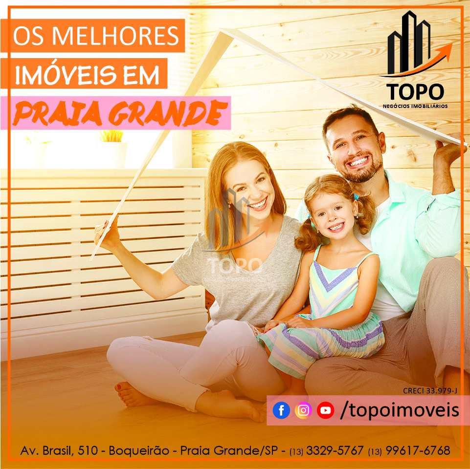 Apartamento com 2 dorms, Aviação, Praia Grande - R$ 320 mil, Cod: 5658