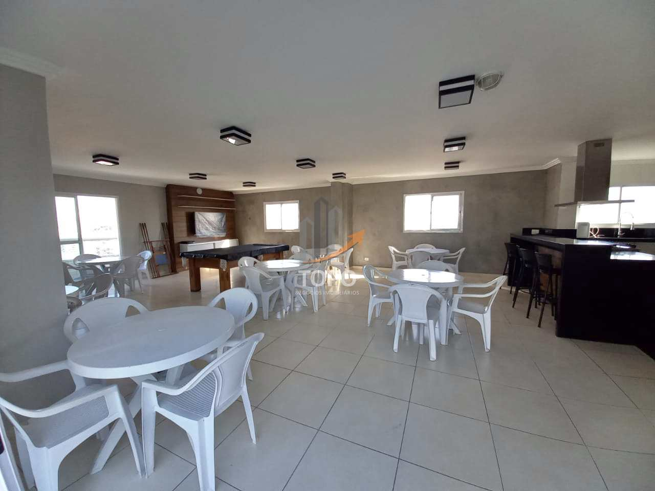 Apartamento com 2 dorms, Guilhermina, Praia Grande - R$ 370 mil, Cod: 5736
