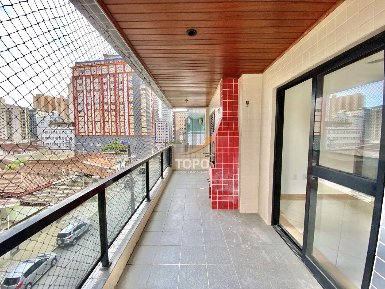 Apartamento com 2 dorms, Boqueirão, Praia Grande - R$ 310 mil, Cod: 5750