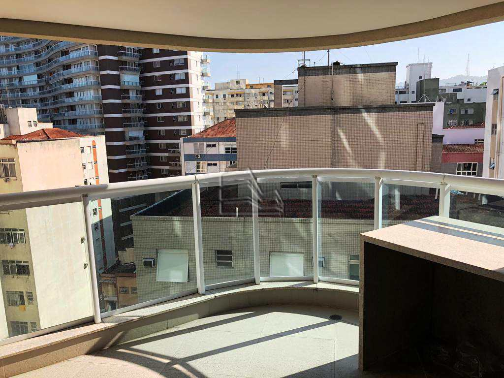 Flat com 1 dorm, Pompéia, Santos - R$ 450 mil, Cod: 1147