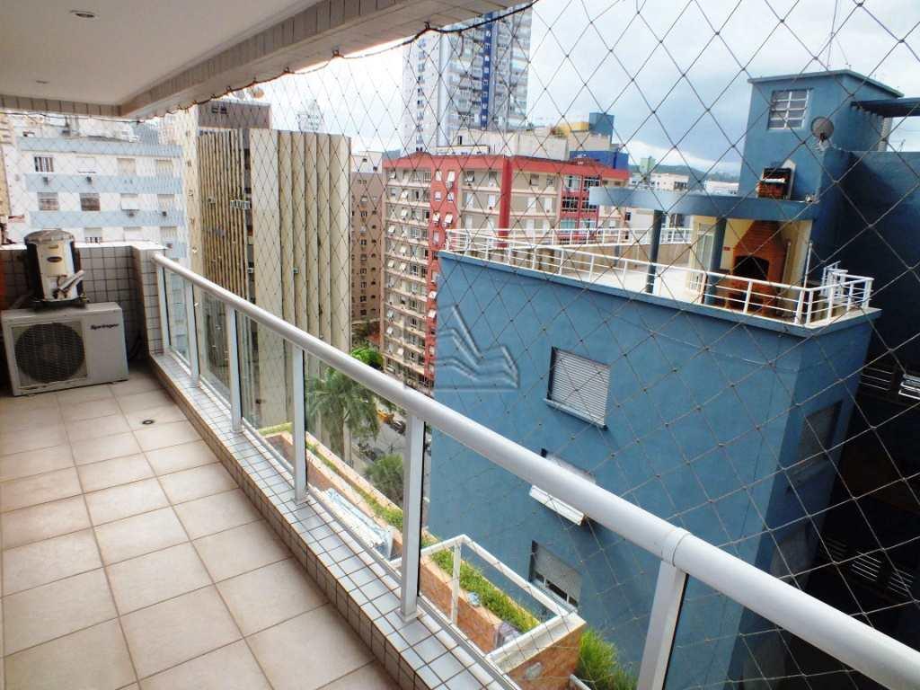 Apartamento com 2 dorms, Gonzaga, Santos - R$ 700 mil, Cod: 1169