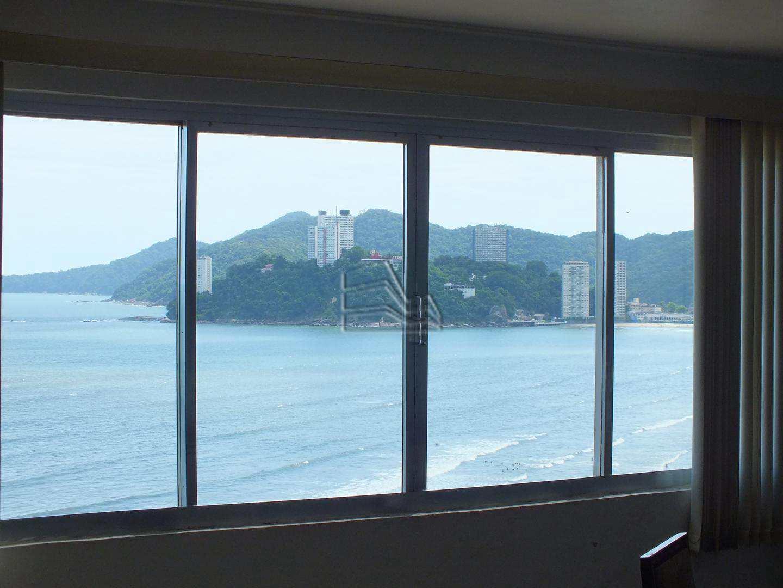 Apartamento com 3 dorms, José Menino, Santos - R$ 950.000,00, 180m² - Codigo: 1174