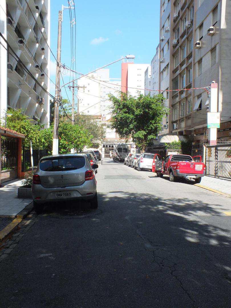 Sala Living com 1 dorm, Boqueirão, Santos - R$ 165 mil, Cod: 1235