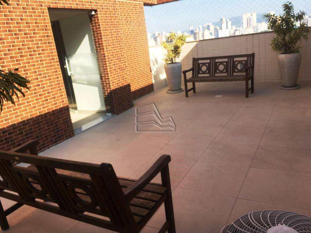 Apartamento com 1 dorm, Encruzilhada, Santos - R$ 330 mil, Cod: 1284