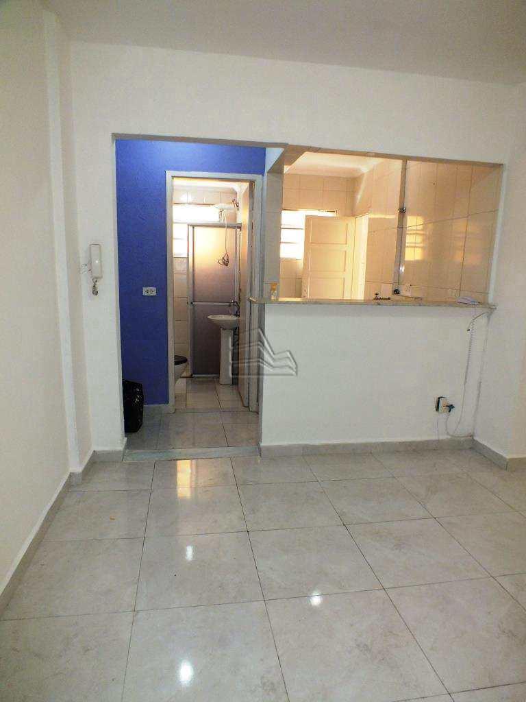 Apartamento com 1 dorm, Pompéia, Santos, Cod: 1353