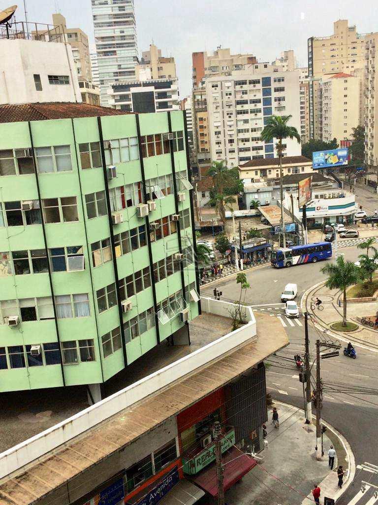 Apartamento com 3 dorms, Gonzaga, Santos - R$ 450 mil, Cod: 1445