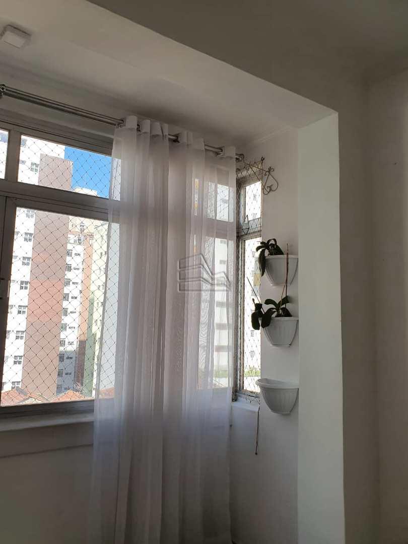 Apartamento com 2 dorms, José Menino, Santos, Cod: 1591