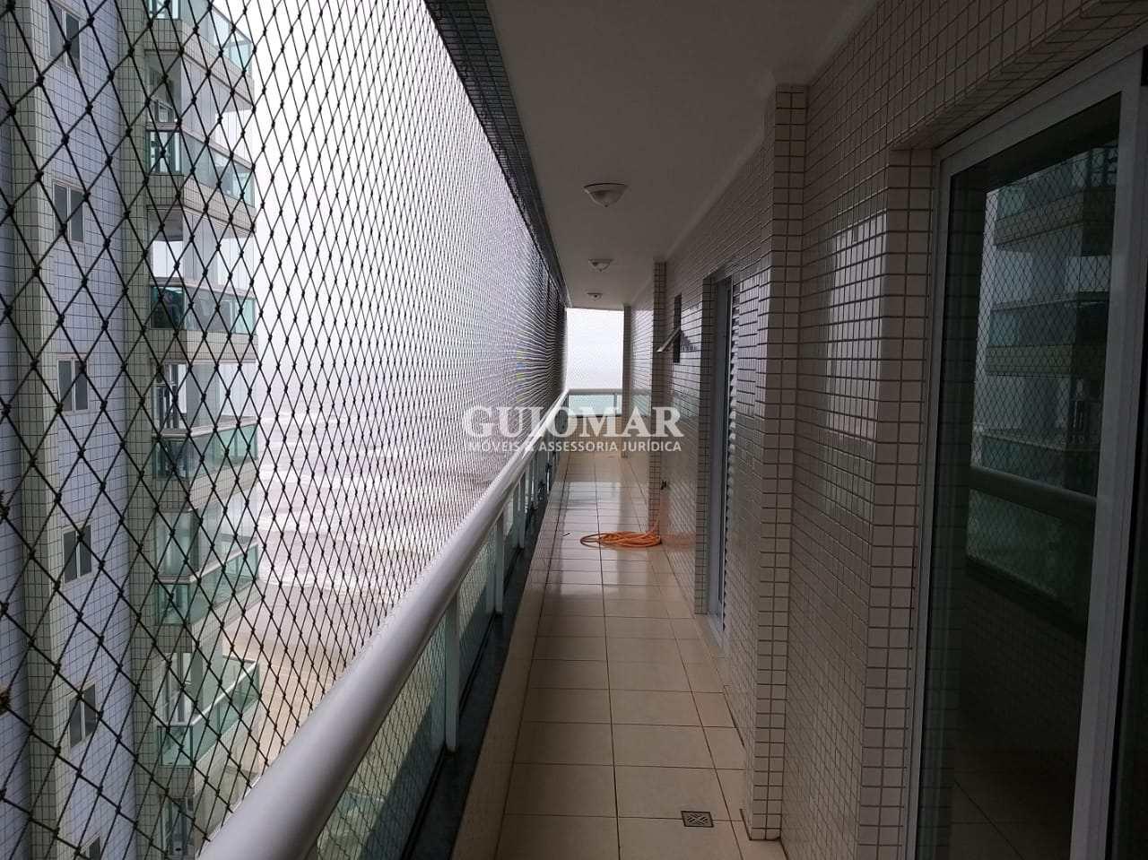 Apartamento com 3 dorms, Caiçara, Praia Grande - R$ 550 mil, Cod: 2106