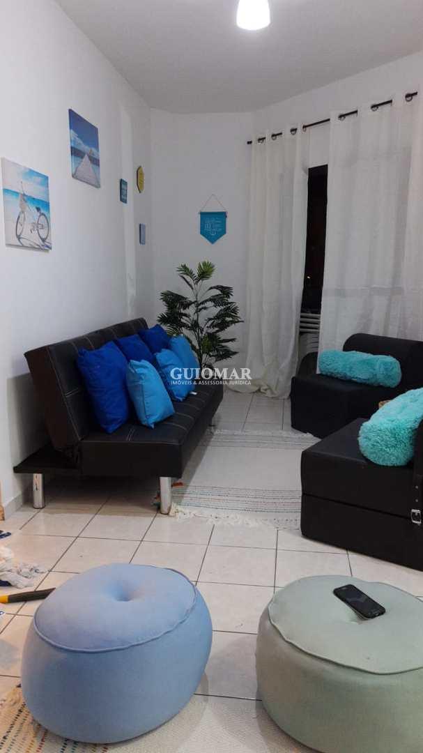 Apartamento com 1 dorm, Ocian, Praia Grande - R$ 140 mil, Cod: 2185