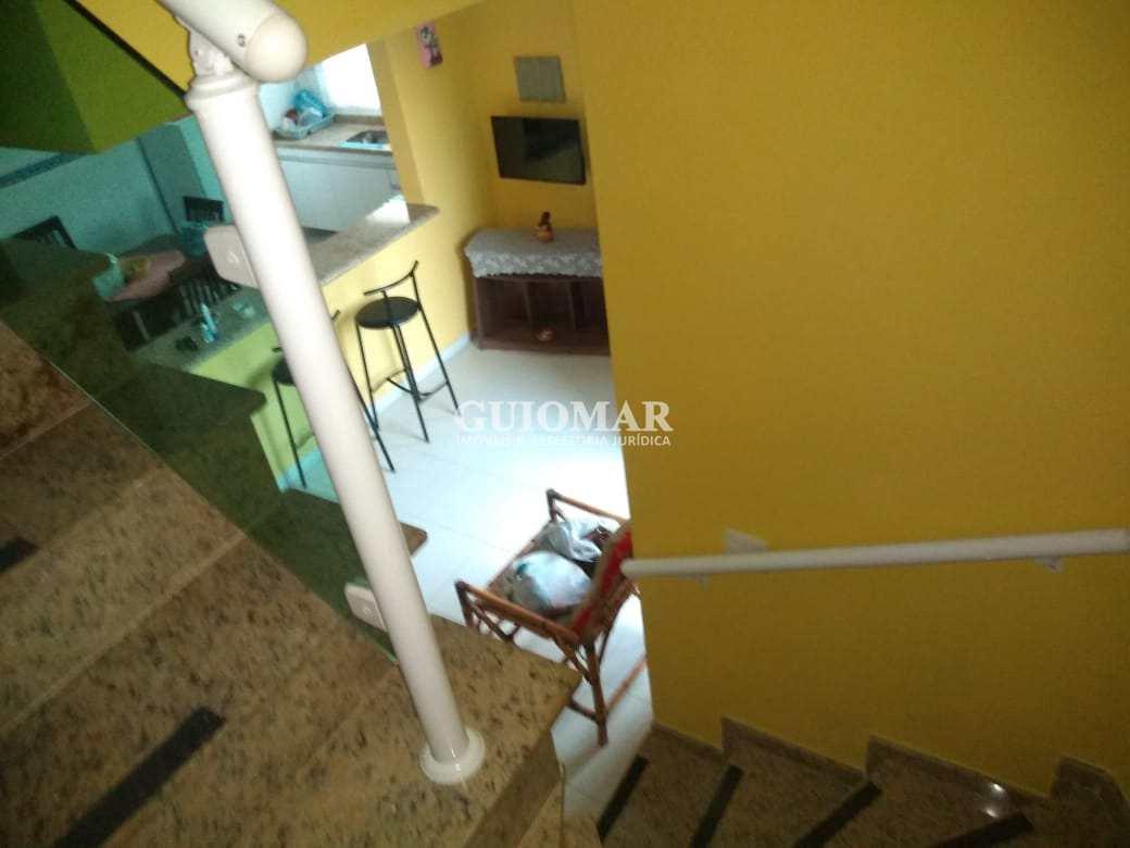 Sobrado com 2 dorms, Real, Praia Grande - R$ 280 mil, Cod: 2207