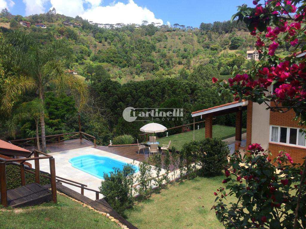 Casa de Condomínio com 4 dorms, Machadinho, Santo Antônio do Pinhal - R$ 1.5 mi, Cod: 652