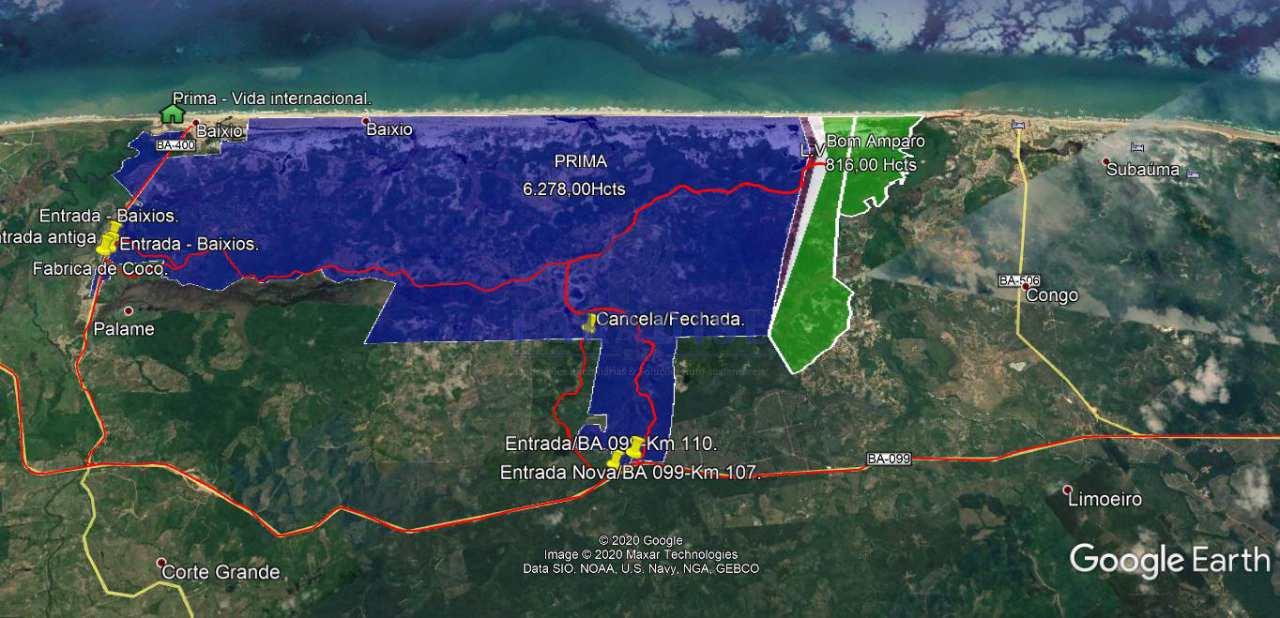 Área, Subauma, Entre Rios - R$ 3 mi, Cod: 68491