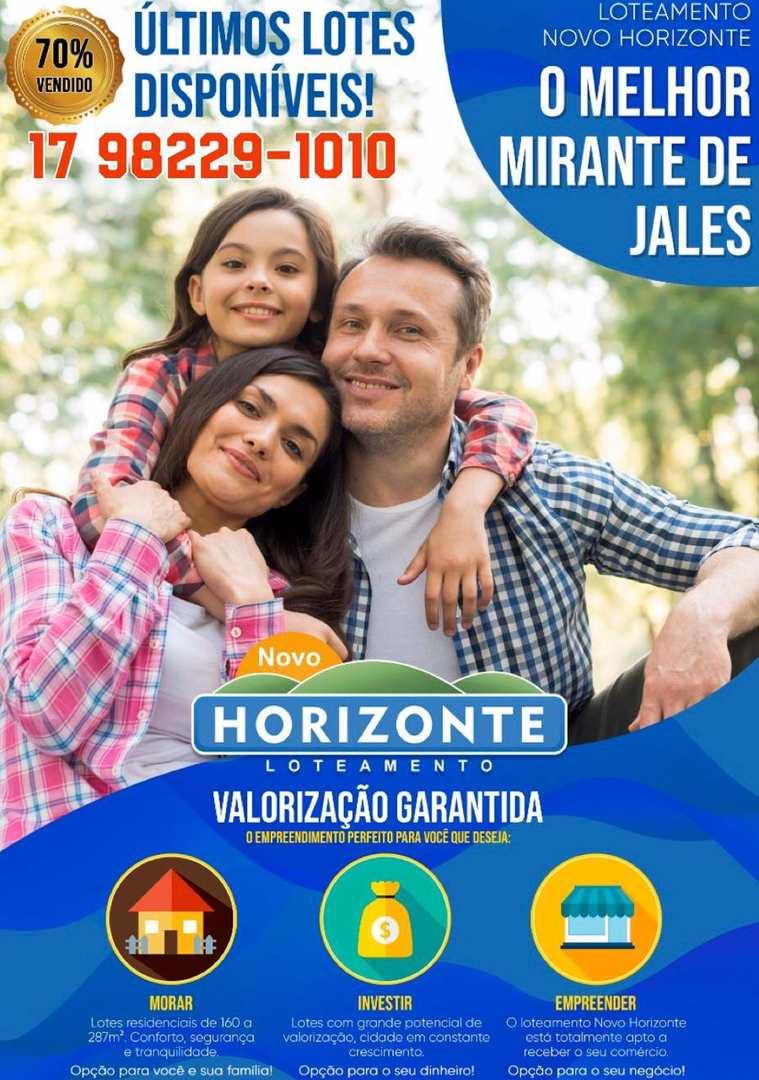 Loteamento Novo Horizonte, Jales - R$ 59 mil, Cod: 3520