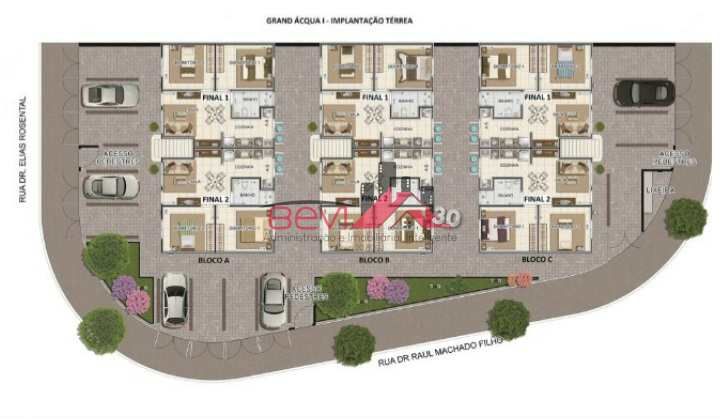 Apartamento com 2 dorms, Água Branca, Piracicaba - R$ 150 mil, Cod: 5048
