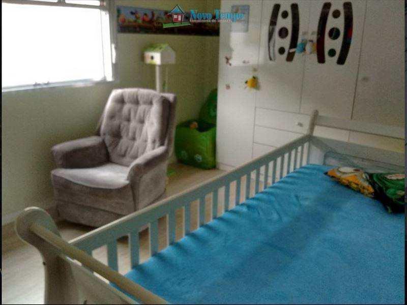 Apartamento com 3 dorms, Vila Mathias, Santos - R$ 360 mil, Cod: 9878